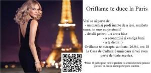 Oriflame te duce la Paris