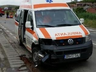 Accident rutier pe strada 1Mai