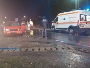 Două fete lovite pe trecerea de pietoni de un sofer neatent – UPDATE – FOTO