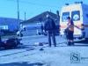 """Accident: Un motociclist a fost """"proiectat"""" într-o ambulanță"""