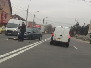 Accident rutier la intrare în Sânnicoara