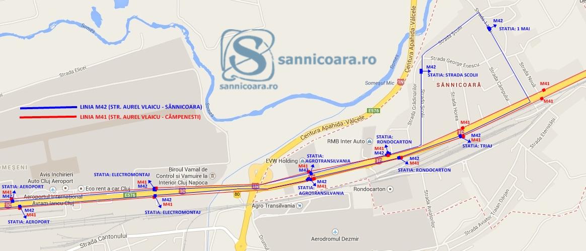 harta-linia-m42-m41-sannicoara